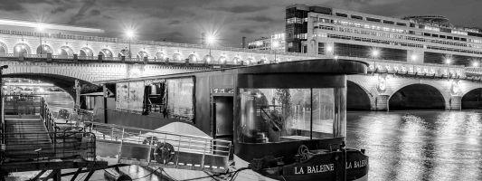 Accès Péniche Baleine Blanche à Paris